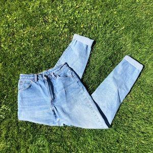 Vintage high waisted Levi's jeans
